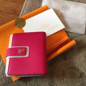 Tory Burch passport and cards holder